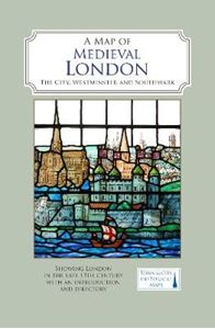 Picture of Map of Medieval London: The City, Westminster and Southwark
