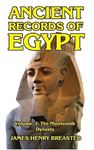Picture of Ancient Records of Egypt Volume III: The Nineteenth Dynasty