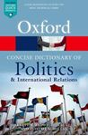 Picture of Concise Oxford Dictionary of Politics and International Relations 4ed