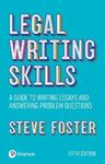 Picture of Legal writing skills: A guide to writing essays and answering problem questions