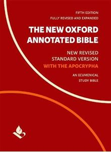 Picture of New Oxford Annotated Bible with Apocrypha: New Revised Standard Version