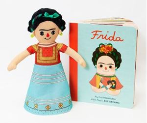 Picture of Frida Kahlo Doll and Book Set: For the Littlest Dreamers