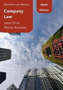 Picture of Company Law 9ed