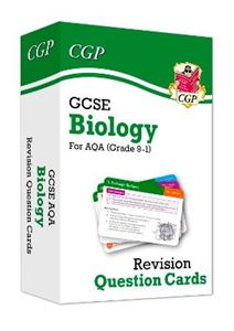 Picture of New 9-1 GCSE Biology AQA Revision Question Cards