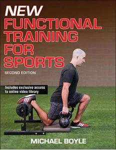 Picture of New Functional Training for Sports 2ed