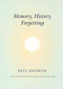 Picture of Memory, History, Forgetting