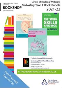 Picture of CCCU Midwifery Yr 1: Anatomy and Physiology for Midwives 4ed (revised); Study Skills Handbook 5ed; Normal Midwifery Practice