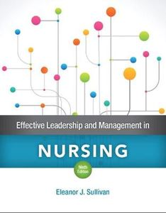 Picture of Effective Leadership and Management in Nursing 9ed