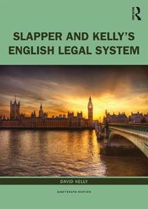 Picture of English Legal System 19ed