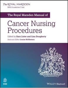 Picture of The Royal Marsden Manual of Cancer Nursing Procedures