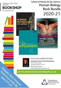 Picture of Human Biology Book Bundle 2020:Human Physiology 5ed; Principles of Development 6ed; Human Form, Human Function: Essentials Of Anatomy & Physiology, Enhanced Edition