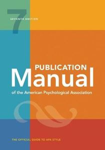 Picture of Publication Manual of the American Psychological Association (Spiral Bound Edition)