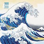 Picture of Adult Jigsaw Puzzle Hokusai: The Great Wave: 1000-piece Jigsaw Puzzles