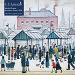 Picture of Adult Jigsaw Puzzle L.S. Lowry: Market Scene, Northern Town, 1939: 1000-piece Jigsaw Puzzles
