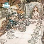Picture of Adult Jigsaw Puzzle Arthur Rackham: Alice in Wonderland Tea Party: 1000-piece Jigsaw Puzzles