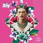Picture of Adult Jigsaw Puzzle Frida Kahlo Pink: 1000-piece Jigsaw Puzzles