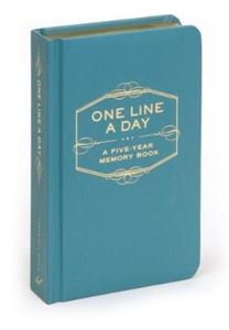 Picture of One Line A Day: A Five-Year Memory Book