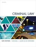 Picture of Criminal Law 16ed