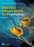 Picture of Statistics Without Maths for Psychology 8ed