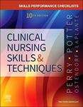 Picture of Skills Performance Checklists for Clinical Nursing Skills & Techniques