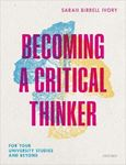 Picture of Becoming a Critical Thinker: For your university studies and beyond