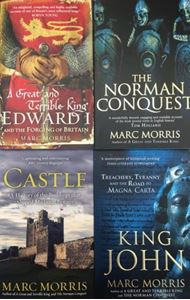 Picture of Marc Morris SIGNED Book Bundle: Norman Conquest; King John: Treachery, Tyranny and the Road to Magna Carta; Great and Terrible King: Edward I and the Forging of Britain; Castle: A History of the Buildings That Shaped Medieval Britain