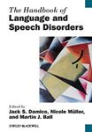 Picture of Handbook of Language and Speech Disorders