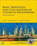 Picture of Basic Principles and Calculations in Chemical Engineering 9ed